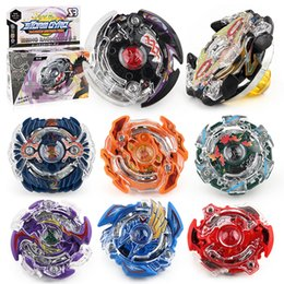 8 Stlyes New Spinning Top Beybladefor Boys Birthday Gift With Launcher And Original Box Metal Plastic Fusion 4D Gift Toys For Children