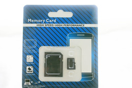 DHL 64GB 128GB 256GB Class 10 SD TF Memory Card with Adapter Retail Package Flash SD Cards NEW 100pcs