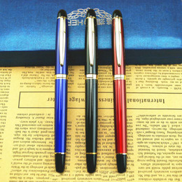 1 PC High Quality HERO Fountain pen Full metal Golden Clip luxury pens Caneta Stationery Office school supplies 8867