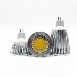 New Lampada LED COB spotlights MR16DC12V GU5.3AC85-265V 6w 9w 12w Dimmable Led SpotlightBulb Lamp