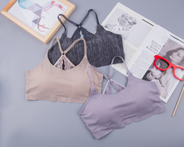 No scar motion bras comfortable ladies sleep underwear without steel ring and Japanese style sling vest