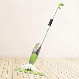 Water spray mop floor high quailty aluminum alloy pole microfiber mop household cleaning tools tile and wood floor windows kitchen bathroom