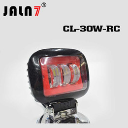 JALN7 2pcs Car led Work Light 30W 4x4 Search light Spot Lights For Toyota Jeep Boats ATV UTV SUV Tractor Offroad 12V 24V