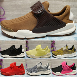 2017 Running Shoes Sock Dart SP Fragment Men Women 2018 High Quality Authentic Sneakers Cheap Walking Online Sports Shoes Size 36-44