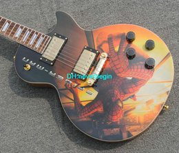 Wholesale guitar High Quality Custom spider-man Electric Guitar free shipping China guitar Factory