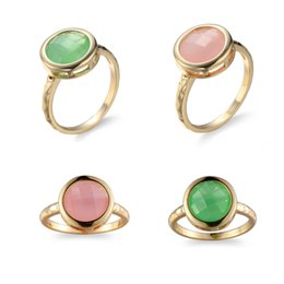 Luckyshine Fashion Creative Couple Zircon Ring 4 Pcs 925 Silver Resin Crystal Jewelry Woman for Party Rings #6 #7 #8 #9