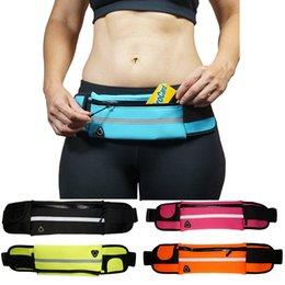 Outdoor Running Sports Waterproof Waist Bag Water Resistant Fanny Pack Pouch Phone Case with Headset Hole