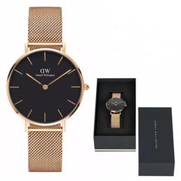New Fashion Daniel watches Steel strip 32mm women watches Luxury Brand Famous Quartz Watch Clock Relogio Feminino Montre Femme Wristwatches