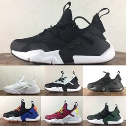 2018 New Air Huarache 6 Acronym City MID Leather High Top Huaraches Mens Trainers Running Shoes Men Huraches Sneakers Hurache Size 36-45
