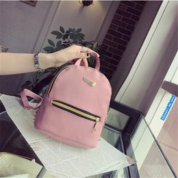 Fashion Women Leather Backpacks Mini Travel Rucksack Girls Handbags School Bag