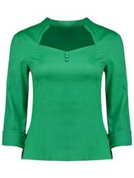 New Women Summer Fashion Dot T Shirt Pure OL Elegent Vintage T Shirt