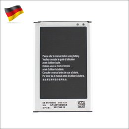 High Quality Replacement Battery EB-BN750BBE 3100mAh For Samsung Galaxy Note 3 akku dhl ddp freeshipping Germany Stock