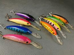 FISHING LURES CRANKBAIT HOOKS BASS 4.9g 8cm