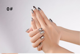 metal color Stainless steel color Mirror silver nail polish manufacturers selling Wolesale Best Price free shipping