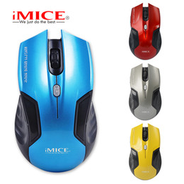 imice Wireless Mouse 2.4G USB Optical Computer mouse Gamer Mice 6 Buttons Cordless Gaming Mouse For PC Laptop Desktop