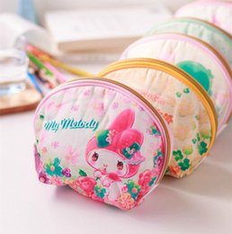cb639ddbe25 New Hello Kitty My Melody Little Twin Stars Cinnamoroll Pudding Dogs  Cosmetic Bag Women Clutch Purse Handbags Christmas Gifts