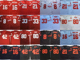 80 Jerry Rice Jersey 8 Steve Young 16 Joe Montana 42 Ronnie Lott 21 Deion Sanders 33 Roger Craig 44 Tom Rathman 87 Dwight Clark
