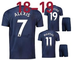 18 19 POGBA soccer jerseys 2018 2019 football shirt ALEXIS LINDELOF RASHFORD MKHITARYAN LUKAKU MARTIAL JERSEY united Adults