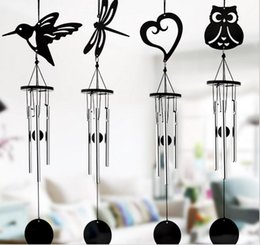 Wholesale Metal Wind Chime Crafts Hang Aluminum Tubes Music Wedding Garden Home Bedroom Decoration Pendants Bells Birthday Gifts