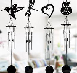 Wholesale Metal Wind Chime Crafts Hang Aluminum Tubes Music Wedding Garden Home Bedroom Decoration Pendants Bells Birthday Gifts