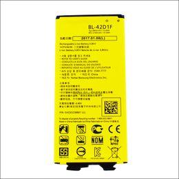 For Lg G5 BL-42D1F 2800mAh Li-ion Replacement Battery For LG G5 H820 H830 H850 LS992 VS987 US992 akku dhl ddp freeshipping