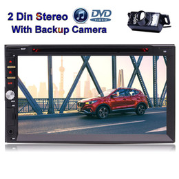 Standard Double Din 7 Inch Capacitive Touch Screen Car DVD Stereo Bluetooth Entertainment System Support FM AM RDS USB SD Multi-UI Optional