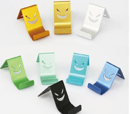 TOP Stand holder metal bracket devil smiley Universal support trestle Mobile phone bag Cell Case For Xiaomi Redmi For iPhone free shipping
