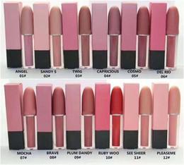 HOT Sale New Makeup Matte Lipstick Lips Lip Gloss 12 colors High Quality DHL Free Shipping
