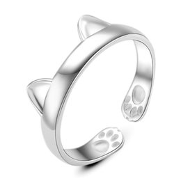 Fashion Classic Accessories 925 Sterling Silver Rings For Women Jewelry Newest Day Gifts Opening Adjustable Ring