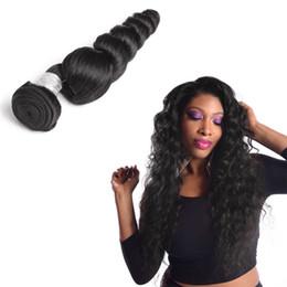 Unprocessed Brazilian Loose Wave 3Pcs Can Be Dyed 100% Unprocessed Human Hair Bundles Double Weft CheapLooseHair Bundles