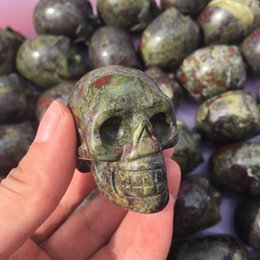 Natural mineral crystal jewelry underground mineral skull skeleton quartz products pendants very fashionable atmosphere