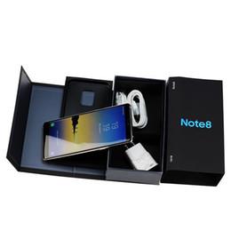Newest 6.3inch Goophone note8 phone note 8 MTK6580 64bit Quad Core 1GB RAM 8GB ROM Show 4GB+64GB 4G LTE 8MP camera GPS WIFI smartphone