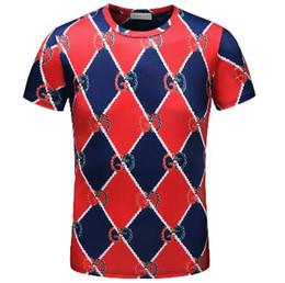 2018 Men's Spring Summer Casual Business T-shirt Classic Shirt Men's Shirt Classic Men's T-Shirt Trend T-Shirt 269021