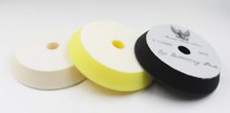 5'(130mm-150mm)GERMAN MAETRIAL Rupes style foam solf puffing polish foam pad 1lot 3pcs(1compoundingcutting pad 1 finishing pad 1polishin pad