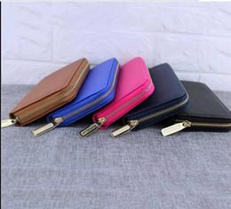 Brand New PU Faux Leather Women Long Purse Plaid Zipper Wallet Phone Case Designer Purses For Women