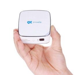Proxelle Pico Projector, Home Bussiness Projector Mini Size Fits your pocket Wireless with 10-80inch Display