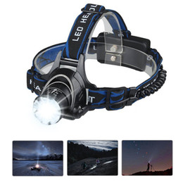waterproof flashlight led headlamp T6 cree super bright 1000lm head light for hiking, camping, riding and fishing outdoor