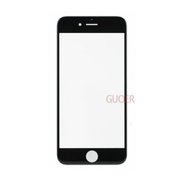 """high quality Replacement LCD Front Touch panel Glass Outer Lens for iPhone 6 6G 4.7inch   6 Plus 5.5"""" Black White colour"""