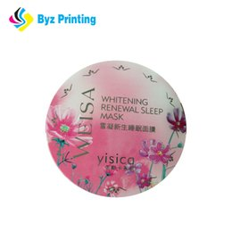 2019 Vinyl Material and Accept Custom Order peel off label sticker exactly factory price for stickers