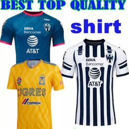 2018 2019 LIGA MX Club America Tigres UANL SOCCER JERSEY 18 19 Tigres UANL GIGNAC DAMIAN ZELARAYAN HOME Monterrey FOOTBALL SHIRTS CUSTOMIZE