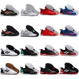 2017 men soccer cleats ACE Tango 17 + Purecontrol TF IC cheap indoor soccer shoes original predator football boots turf futsal shoes golden
