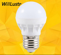 LED Bulbs E27 Globe Bulbs Lights 3W SMD2835 LED Light Bulbs Warm White Super Bright Light Bulb Energy-saving Light 110V 220V