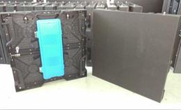P3.91 Indoor 500x500mm SMD2121 led die casting rental display cabinet nova card for TV station stage
