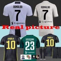 2018-19 RONALDO 7 Juventus Adult away third Goalkeeper KIDS youth TOP best 2018 DYBALAHIGUAIN BUFFON Chiellini MANDZUKIC home soccer jersey