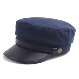 899e35ac888 7 Colors Flat Top PU Leather Cotton Cap Snapbacks Caps Autumn Casquette  Baseball Cap Designer Hats Dad Hat Bucket Fitted Hats