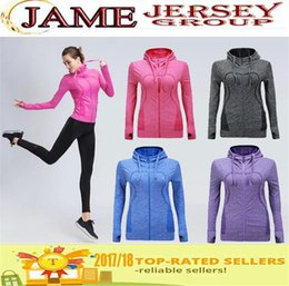4 Color Wholesale Women Sport Jackets For Female Long sleeved Sweatshirt Clothes Running Fitness Yoga Outerwear Gym Jacket Free shipping