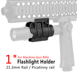 New Quick Releaser design flashlight holder Fit 1 inch tube Fit 20mm weaver Rail for scope mount free shipping CL33-0004