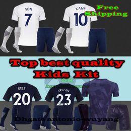 Soccer Jersey 17 18 #20 DELE SON 7 home AWAY THIRD KIDS CHILDS kits soccer jersey shirt #11 LAMELA Football uniforms #23 ERIKSEN sales