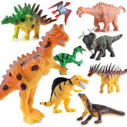 Dinosaur Minifig Building Blocks Puzzles Bricks Dinosaur skeleton Pterosaurs Stegosaurus Tyrannosaurus Triceratops Carnotaurus Carnivorous