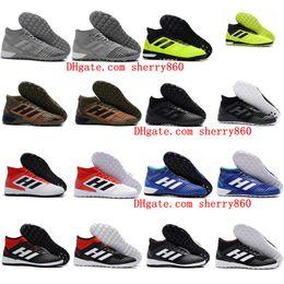 2018 cheap mens soccer cleats predator 18 indoor soccer shoes football boots Predator Tango 18.3 IC TF scarpe da calcio 39 - 46